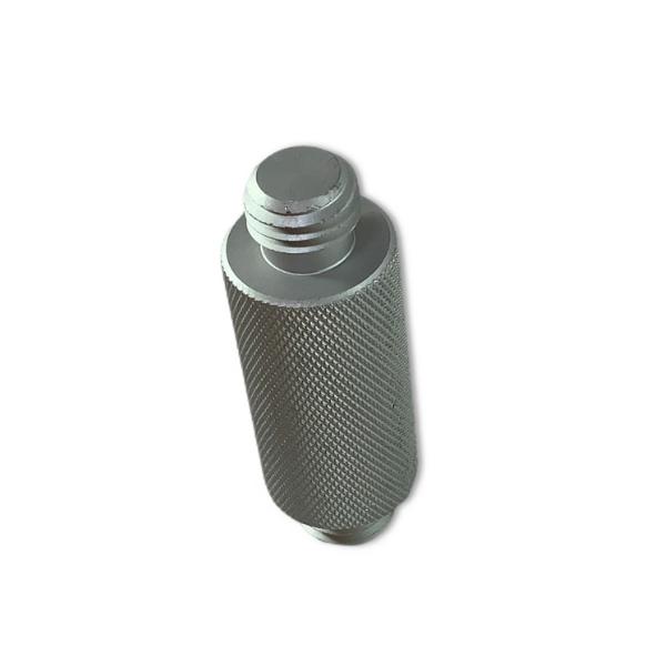 Adapter 5/8 verloop koppel 50mm m/m