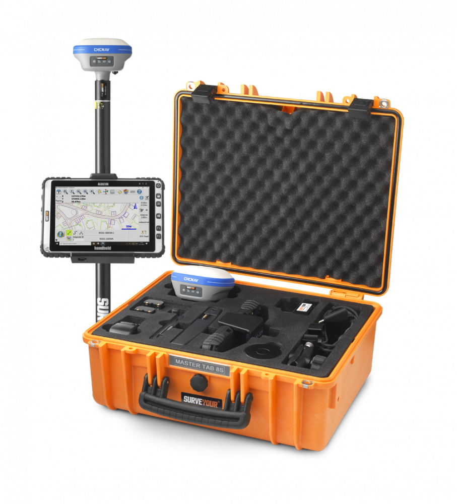 GPS meten en uitzetten doe je zelf met Surveyour.