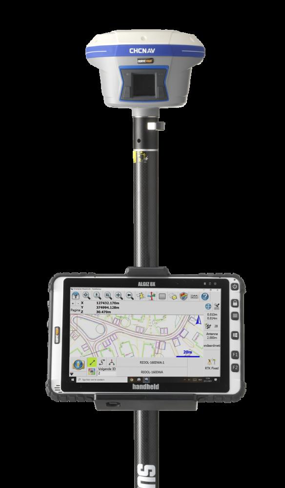 GPS meten en uitzetten doe je voortaan gewoon zelf.